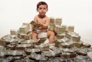 kopanje v denarju