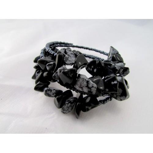 Snežni obsidian