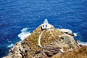 Svetilnik v Grčiji.
