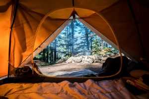 šotor za taborjenje