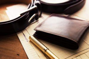 Kvalitetna elegantna moška usnjena denarnica