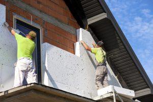 Izdelava fasade iz stiroporja