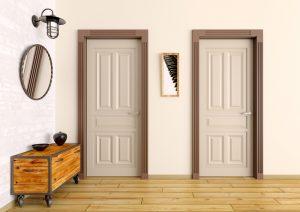 Vrata lahko povsem spremenijo izgled doma.